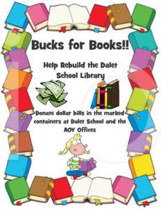 Bucks for Books Poster
